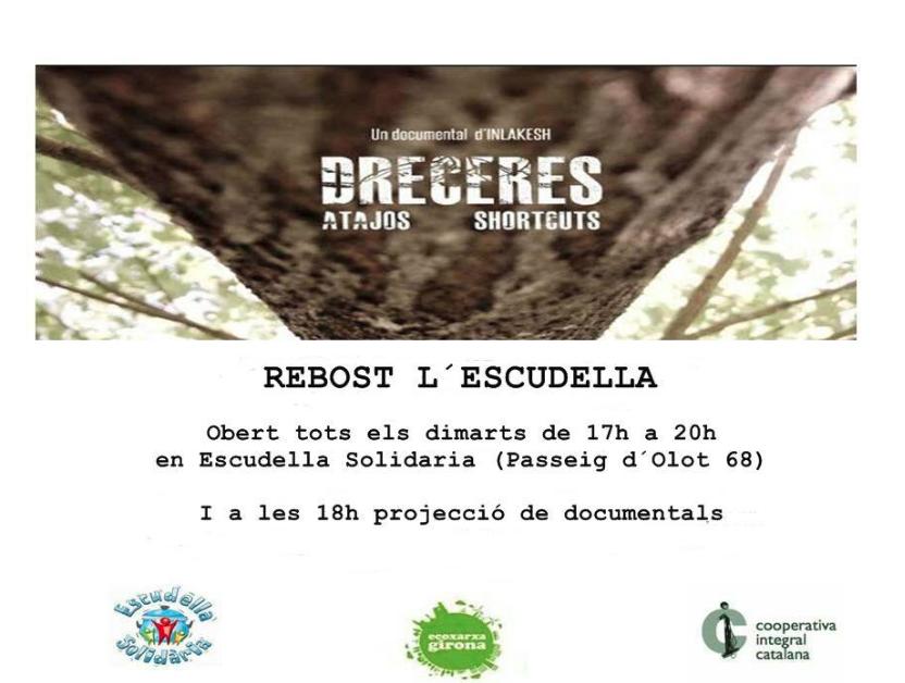 [Ecoxarxa Girona] Rebost&Documentals tots els dimarts.