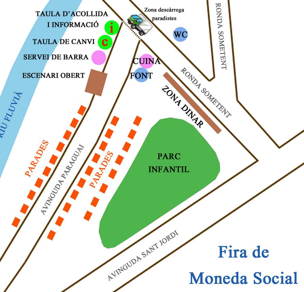 Mapa Fira