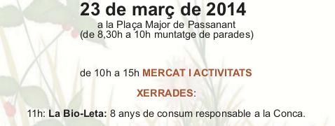 8é Mercat d'Intercanvi de Passanant