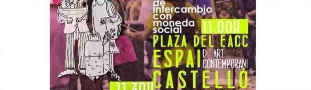 [Ecoxarxa de Castelló] 11º Mercado de intercambio y moneda social